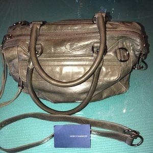 Rebecca Minkoff Authentic Grey Leather Bag